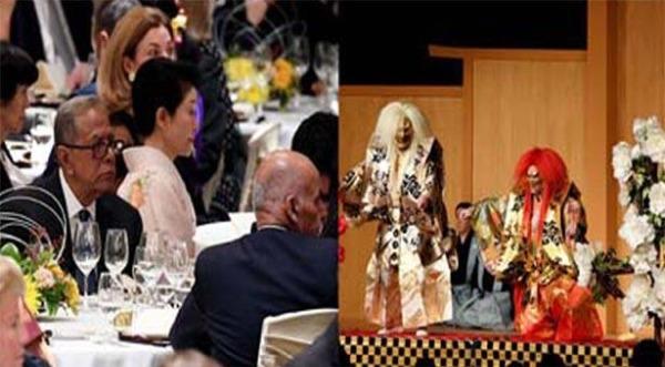 জাপানের প্রধানমন্ত্রীর নৈশভোজে রাষ্ট্রপতি