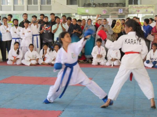 উন্মুক্ত কারাতে প্রতিযোগিতায় কুমিল্লা সিটি কর্পোরেশন চ্যাম্পিয়ন