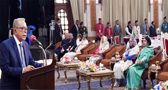 সংসদ সদস্যদের জনগণের পাশে থাকার আহ্বান রাষ্ট্রপতির