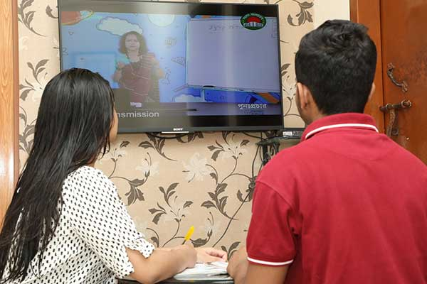 ব্র্যাকের জরিপ :৫৬% শিক্ষার্থীই সম্প্রচারিত ক্লাসে অংশ নিচ্ছে না