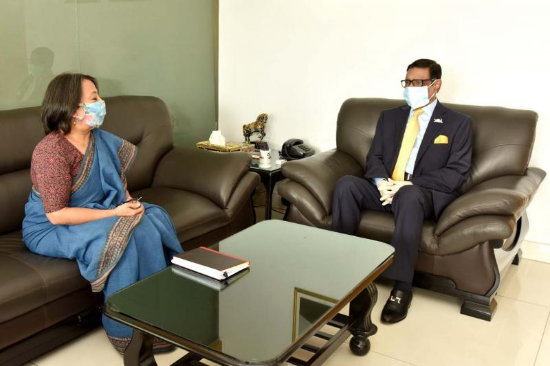 'বাংলাদেশ ও ভারতের বন্ধুত্বপূর্ণ সম্পর্ক বহুমাত্রিক'
