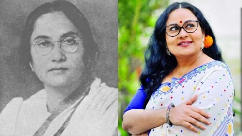 'প্রীতিলতা'সিনেমার 'লীলা নাগ' চরিত্রে আফসানা মিমি