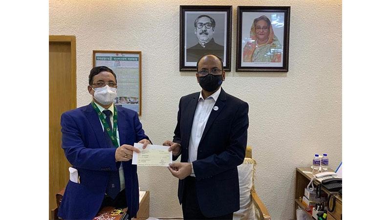 ঢাকা শিশু হাসপাতালে ১০ কোটি টাকা দিলেন প্রধানমন্ত্রী