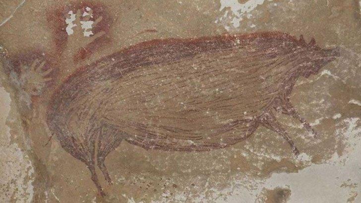 ইন্দোনেশিয়ায় সাড়ে ৪৫ হাজার বছর আগের গুহাচিত্রের সন্ধান