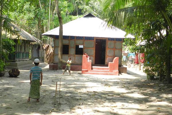 রামগঞ্জের শিশুদের খেলার ছবি আইসিসির ফেসবুক পেজে