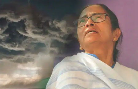সাইক্লোন ইয়াস আসছে, মঙ্গলবার কন্ট্রোল রুমে রাত জাগবেন মমতা