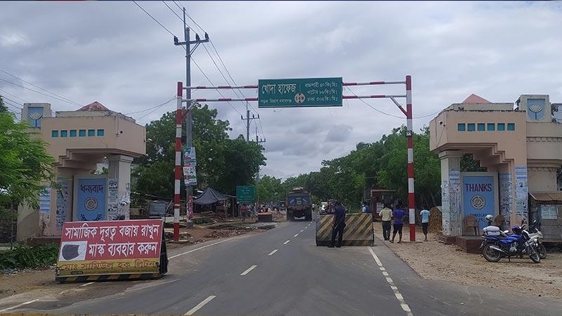 চাঁপাইনবাবগঞ্জে লকডাউন বাস্তবায়নে তৎপর প্রশাসন