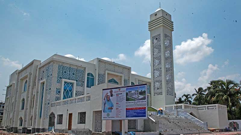 আজ আট জেলায় ৫০টি মসজিদ উদ্বোধন করবেন প্রধানমন্ত্রী