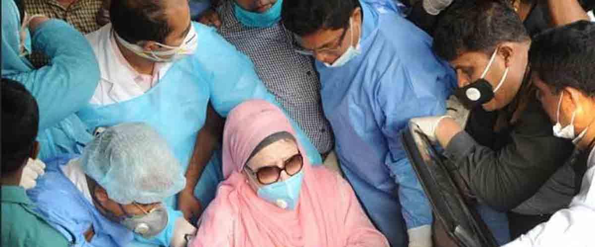 খালেদা জিয়াকে বিদেশে নিতে সরকারের কাছে বিএনপির দাবি