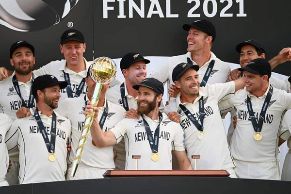ভারতকে হারিয়ে টেস্টের প্রথম বিশ্বচ্যাম্পিয়ন নিউজিল্যান্ড