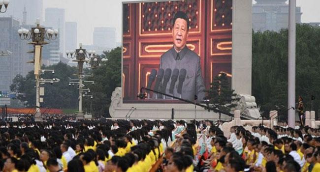কমিউনিস্ট পার্টির শততম বার্ষিকীতে চীনের 'অপরিবর্তনীয়' উত্থানের প্রশংসা শি'র