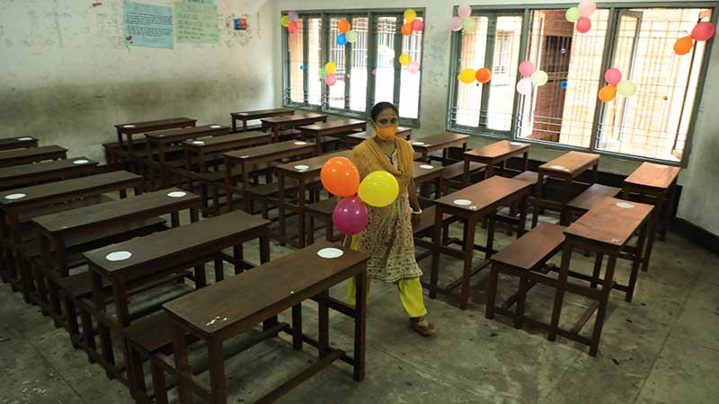 দেড় বছর পর আজ খুলছে শিক্ষাপ্রতিষ্ঠান